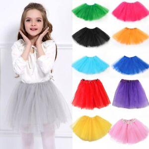 02a4e3f1c 16 Colors Tutu Skirt WOMEN LADY KIDS GIRLS Fancy Dress Skirts Hen ...