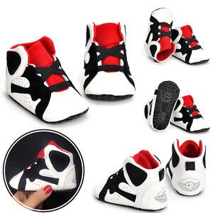 9bb43ec0d66da8 Newborn Baby Soft Sole Crib Shoes Infant Boy Girl Toddler Sneaker ...