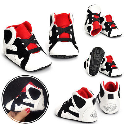 Toddler Boys Shoes Sneaker Sole For 0-18M Soft Crib Girls Newborn Baby Infant