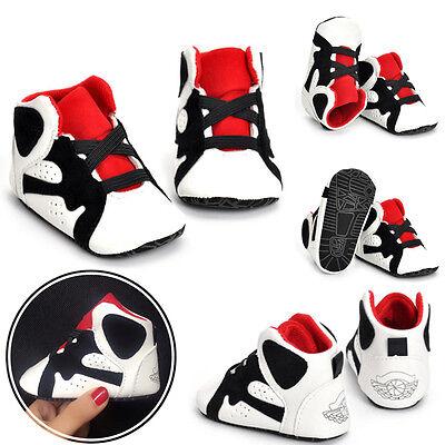 Newborn Baby Soft Sole Crib Shoes Infant Boy Girl Toddler Sneaker Non-Slip 0-18M