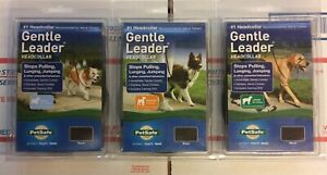 PETSAFE GENTLE LEADER DOG HEADCOLLAR PETITE SMALL MEDIUM LARGE XL BLACK BLUE