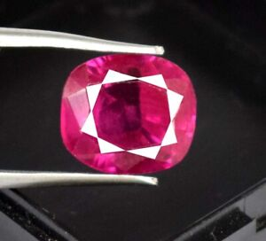Natural Padparadscha Pink Sapphire 10.15 Ct Cushion Loose Gems Certified A49445