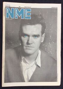 NME 7 June 1986 Morrissey Cover Laurie Anderson Pet Shop Boys Cactus World News