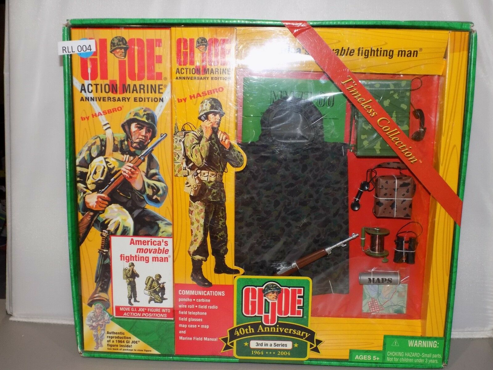 12  G.I. JOE A Battle of the Bulge  Soldier Collection ed NIB (RLL 003)