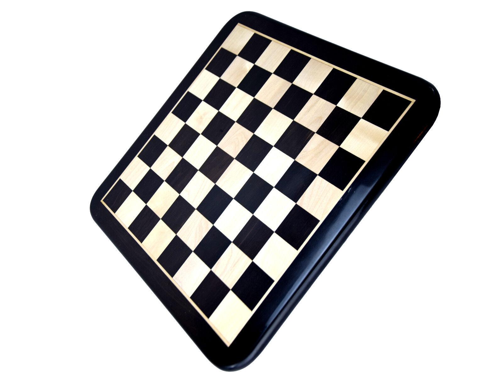 Minotaure Labyrinthe LUXE DAMIER 18  ébène Champ 47 mm angles arrondis Inde