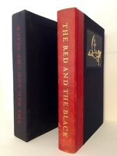 The Red And The Black by Marie Beyle Limited Editions Club 1947 w/Letter Signed