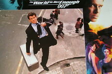 James Bond 007 THE WORLD IS NOT ENOUGH original US Lobby Cards 12 Stills