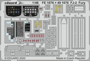 Eduard-Accessories-FE1076-1-48-FJ-2-Fury-for-Kittyhawk-New