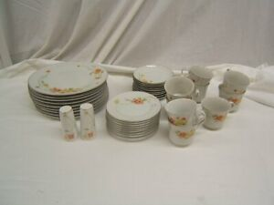 Set of 38 Pieces Annabelle Fine China #5003 Japan Floral VGC