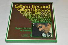 GILBERT BECAUD Un Peu d'Amour et d'Amitie 8-LP BOX SET Reader's Digest Vinyl Gil