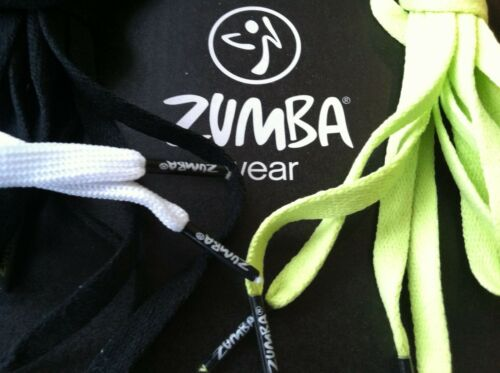 ZUMBA LOGO TIPS Shoe Laces Strings~ Good for CUTTING SHIRTS /& Updating Shoes New