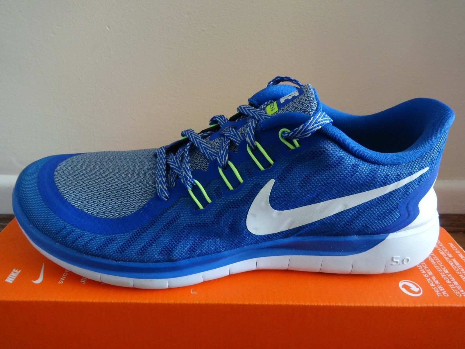 Nike free 5.0 mens trainers NEW Turnschuhe schuhe 724382 410 NEW trainers 85ccb6