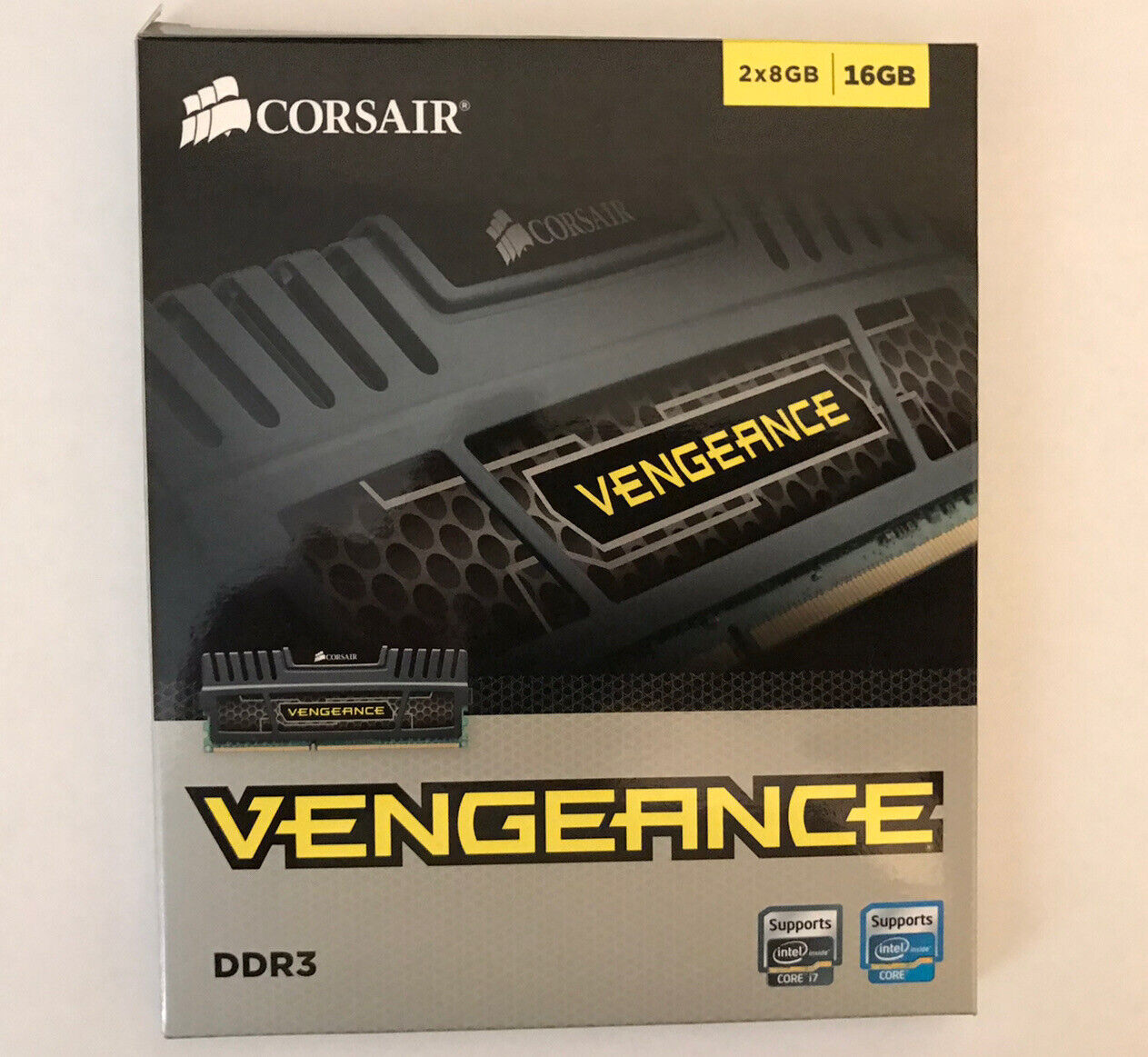 Corsair Vengeance 16gb 2 X 8gb Ddr3 Pc3 12800 Memory Module Cmz16gx3m2a1600c10 For Sale Online Ebay
