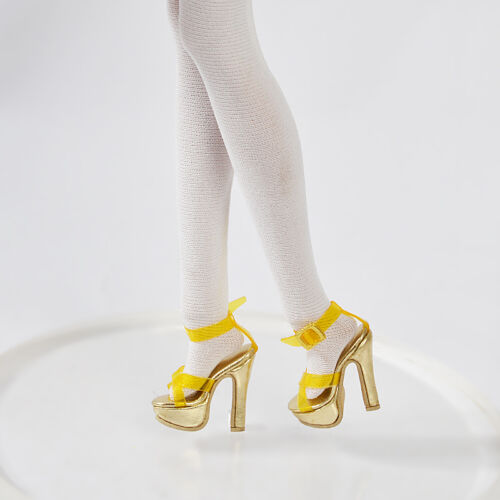 """Tiny Kitty 10/"""" Tonner 12/"""" Fashion Royalty Golden 29MM Shoes//Sandals//кукла обувь"""