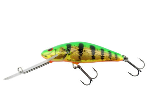 Salmo Bullhead 4-8cm Floating Lure Crankbait Super deep runn Trout Walleye Bass
