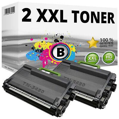 2x Toner für Brother DCP-L5500dn L6600dw MFC-L5700dn L5750dw L6800dw L6900dw Set