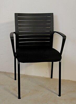 Besucher- & Konferenzstühle Sitzmöbel Konferenzstuhl Mit Armlehnen Entlastung Von Hitze Und Sonnenstich Werndl #1 Besucherstuhl