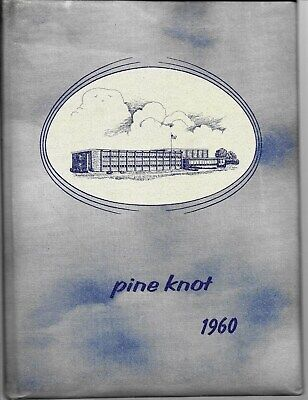1960 Pine Valley High School South Dayton NY Yearbook ...