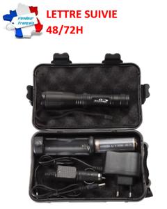 Et Chargeur Torche Lm En K20 Batterie Sur Lampe Led Détails Avec Puissante 3800 Coffret Étui lFK1cuTJ3