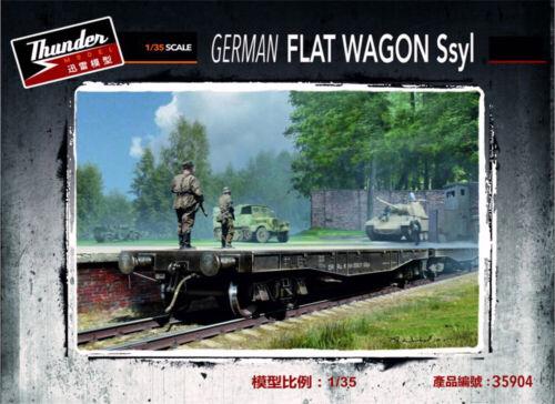 Thunder Models 1//35 German Flat Wagon Ssyl # 35904