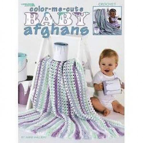 Color-me-Lindo Bebé afganos Patrón De Ganchillo 5 Diseños
