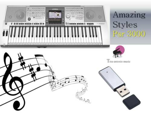 PSR 3000 USB-Stick+AMAZING STYLES