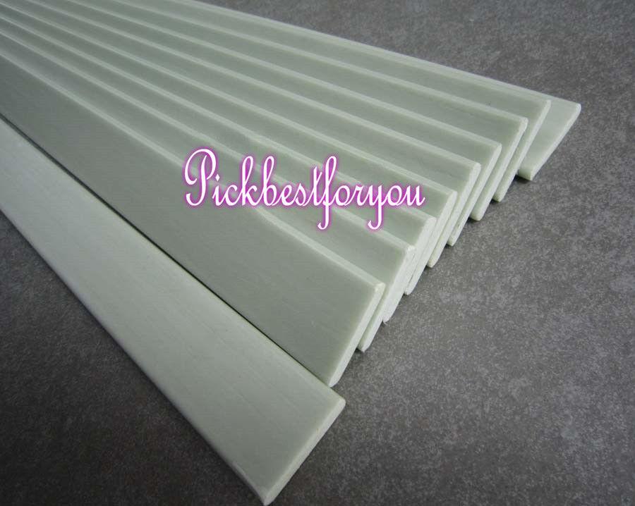 2-10pc Glass Fiber Strip Flat Bar 530500mm High elastic bow arrow  Mo77 QL