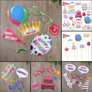 22PCS-Happy-Birthday-Selfie-Photo-Booth-Props-Party-Photography-Game-Decorations