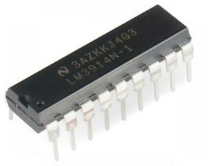 5-Pack-LM3914-Dot-Bar-Display-Driver-Linear
