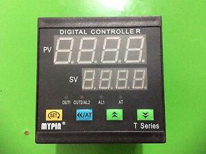 90-260V Digital F/C PID Temperature Controller Thermostat TA9 SSR output+2Alarms