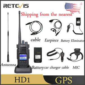 Details about GPS Walkie Talkies Ailunce HD1 IP67 DMR Ham Radio 10W 3200mAh  Long Range US