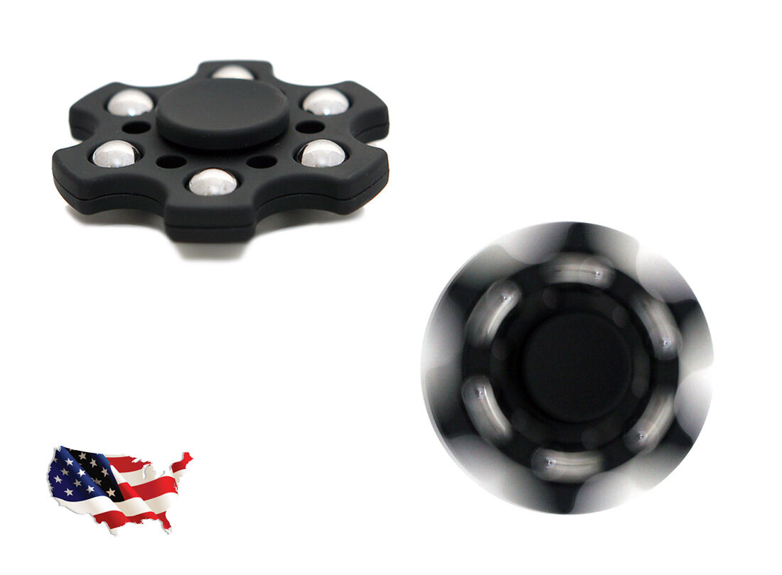 WOBBLER FIDGET SPINNER EDC SPINNER TOP TOY WITH CAPS AND BEARINGS