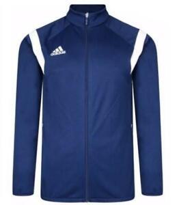 Arne codicioso Vigilante  Nueva Chaqueta Chándal Adidas Para Hombre Essentials Azul Marino Chaqueta  con cremallera superior   eBay