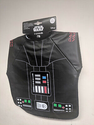 DARTH VADER 9 MONTHS MOTHERCARE STAR WARS 2 X COVERALLS * NEW