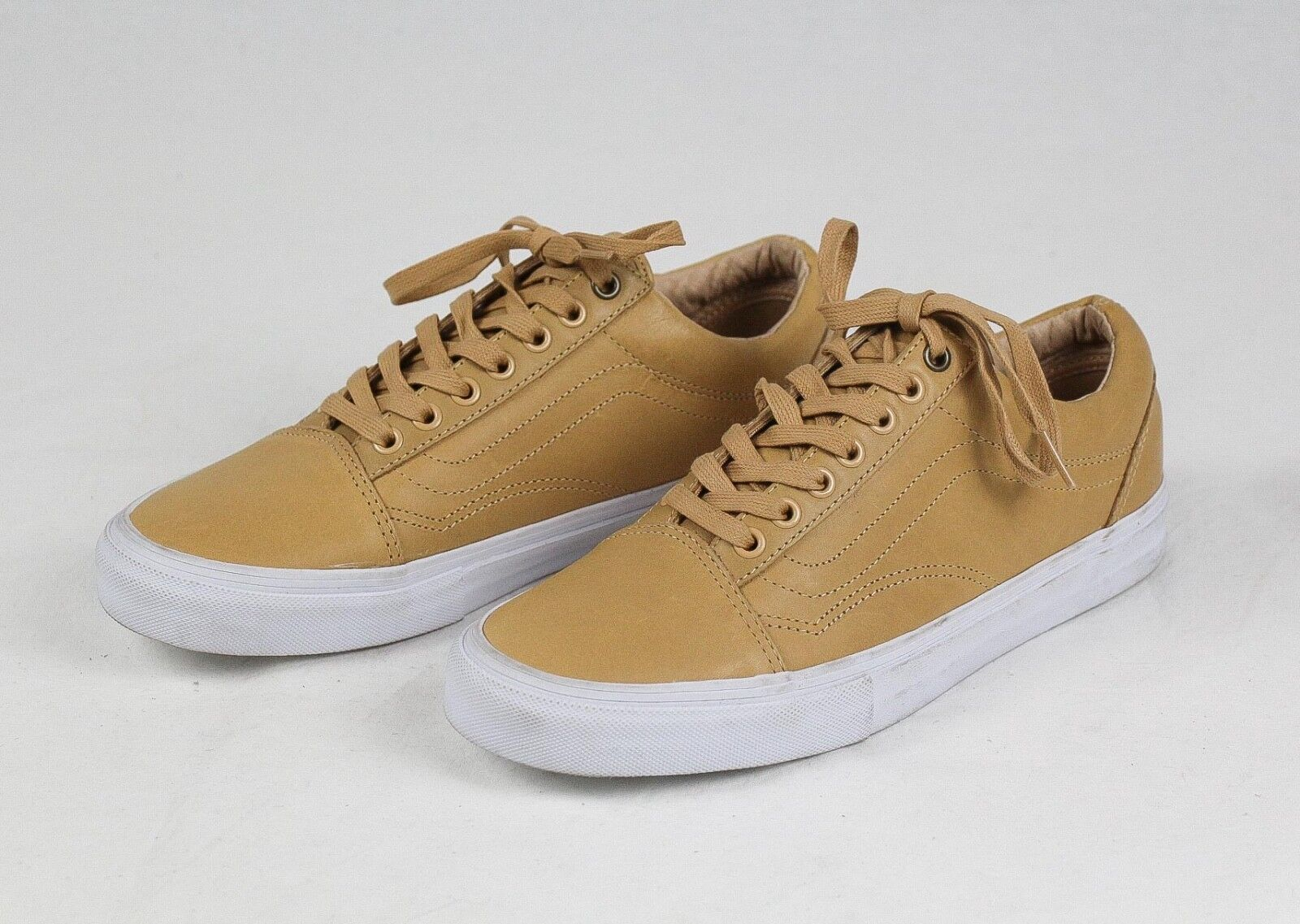 Vans x Highsnobiety F&F Leather Old Skool Sand Sneakers Size 8.5 RARE 1 of 100