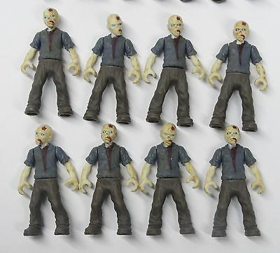 """lot of 8 Bloks Call of Duty Zombies Outbreak The Walking Dead action figure 2/"""" w"""
