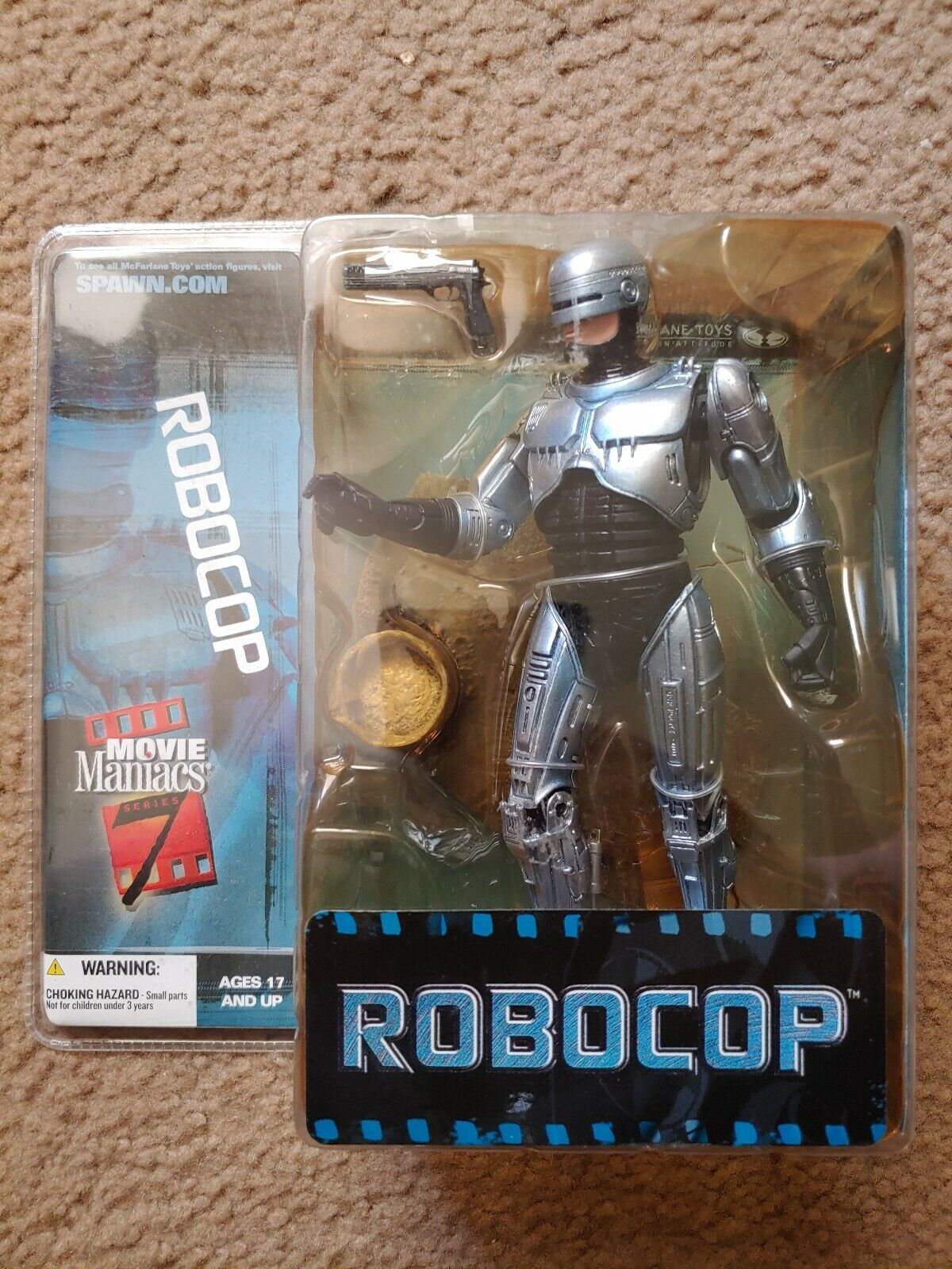 McFarlane  giocattoli RoboCop Movie uomoiacs Series 7 2004. With Issues read below  omaggi allo stadio