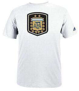 NEU adidas Ultimate Tee AFA Argentinien Futbol Wappen T-Shirt