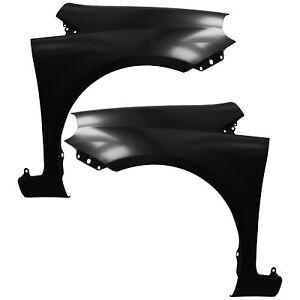 Guardabarros-Fender-set-DERECHA-amp-IZQUIERDA-fiat-grande-punto-05-gt-gt-sin-intermitentes-agujero