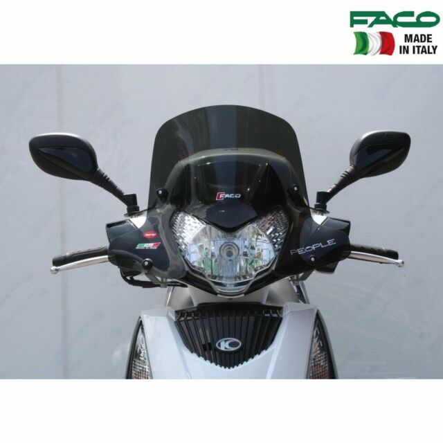 FACO 28565 CUPOLINO FUME CON ASTE ND KYMCO PEOPLE GTI IE 200 2010 2014
