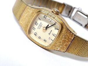 4e0331999fe7 La imagen se está cargando Reloj-mujer-Citizen-Quartz -Seven-Original-Vintage-no-