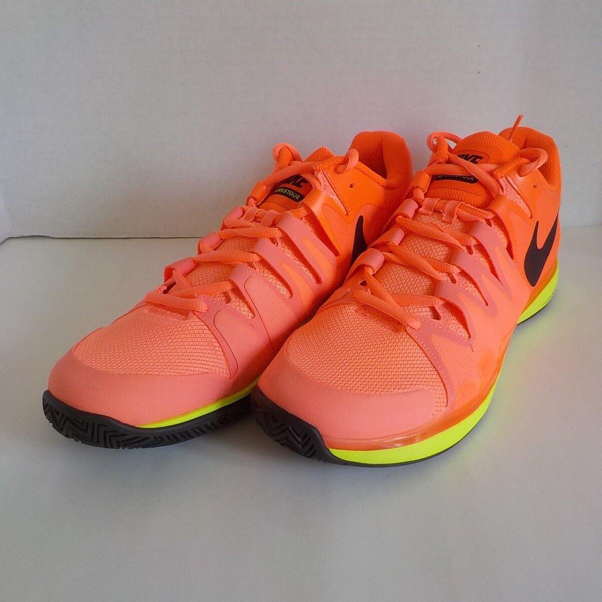Wild casual shoes Nike VAPOR 9.5 TOUR Roger Federer Tennis Shoes LAVA 631458 600 Men Comfortable