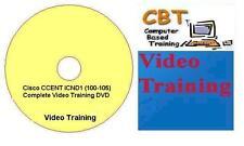Cisco CCENT ICND1 (100-105) Complete Video Training DVD