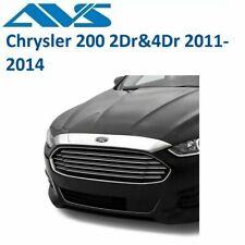 AVS Flush Mount Chrome Hood Protector For Chrysler 200 2Dr/&4Dr 2011-2014 620037