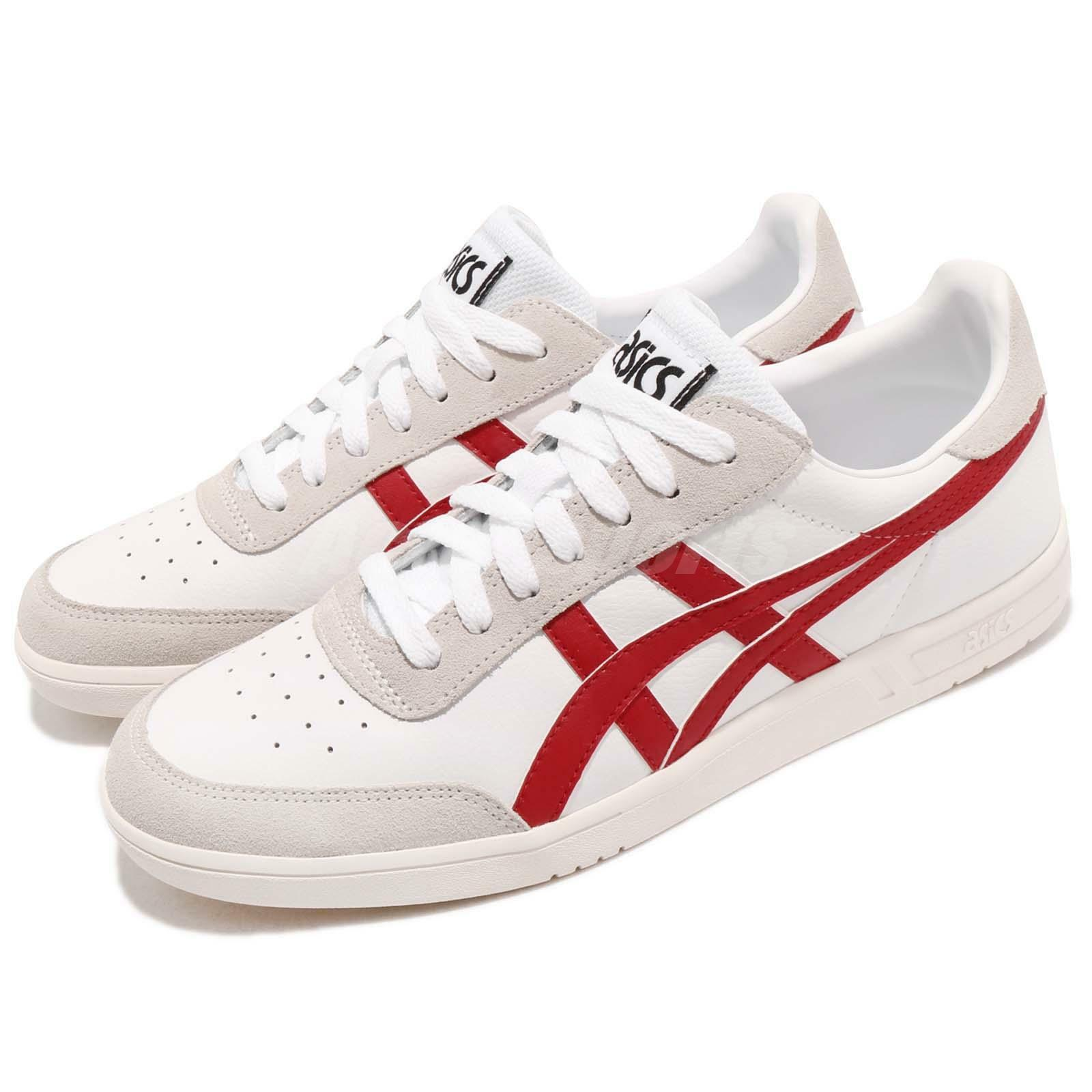 Asics Tiger Gel-Vickka TRS White Red Grey Men Casual shoes Sneakers 1193A033-103