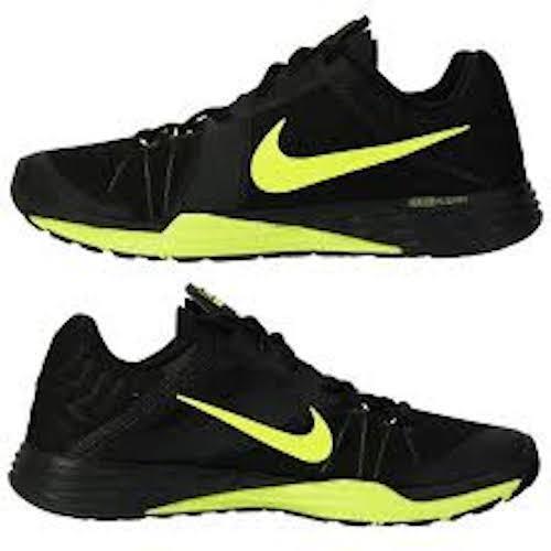 Nike Train Prime Iron DF Mens Cross Training Shoes Black Volt 832219-008
