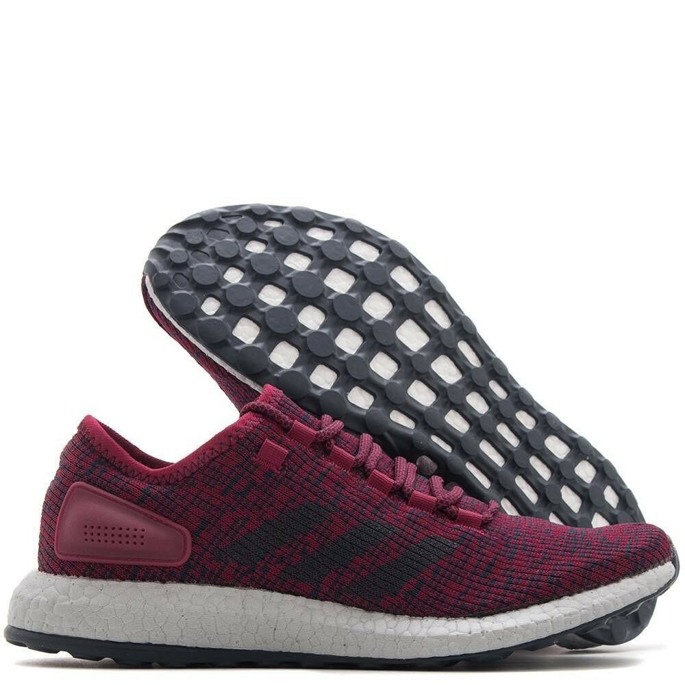 Adidas PureBOOST Shoes Sneakers  Size 11 Burgandy Mystery Ruby