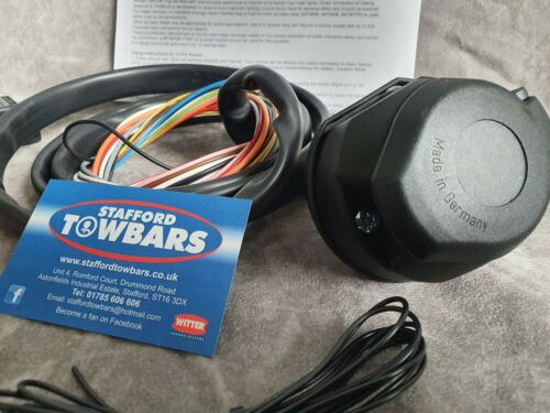 Towbar Wiring Kit Pre-Wired 13 12 Pin Bypass relay TEB7AS Maypole split charge