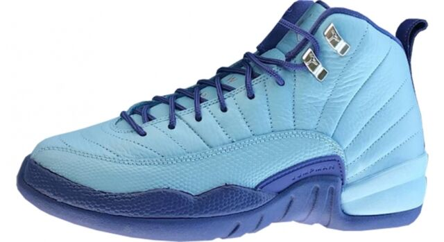 50cc53327342 ... discount code for nike air jordan 12 xii retro gg sz 9.5y blue cap  purple ...