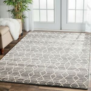 Stress In Rug.Details About Grey Zigzag Stress New Modern Rug Large Floor Mat Carpet Free Delivery Premium